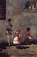 A Street Scene in Seville, 1870, eakins