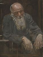 Study of an old man, 1911, eakins