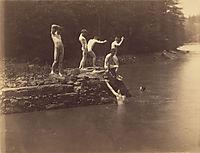 Study for The bathhole, 1883, eakins