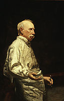 Study of Dr. Agnew for the Agnew Clinic , eakins