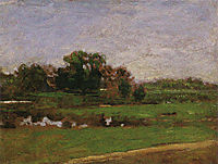 Study for The Meadows, Gloucester, New Jersey, 1882, eakins