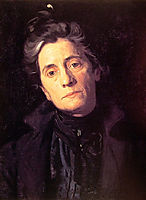 Mrs Thomas Eakins, 1899, eakins