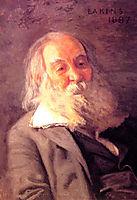 Walt Whitman, 1887-1888, eakins