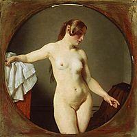 Female Model, Florentine, 1840, eckersberg