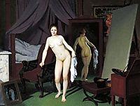 Model in the Studio, eckersberg