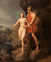 Perseus Delivering Andromeda, eckersberg