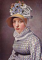 Portrait of Anna Maria Magnani, 1814, eckersberg