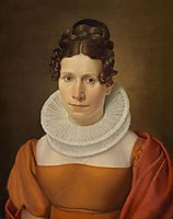 Portrait of Faktor Fjellerups Kone, eckersberg