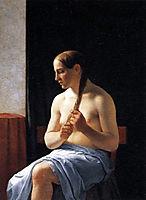 Seated Nude Model, eckersberg