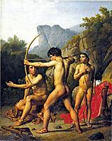 Three Spartan Boys, eckersberg