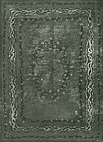 Carpet design, 1898, eckmann