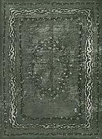 Carpet design, 1898, eckmann