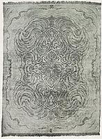 Tiger carpet design, 1899, eckmann