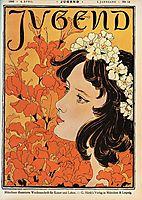The weekly magazine Jugend No. 14, 1896, eckmann
