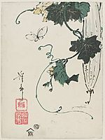 Butterfly and Gourd, eisen