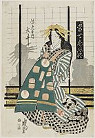 Ôi of the Ebiya, from the series Modern Customs of the Pleasure Quarters, eisen