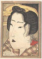 Head of a Beauty, 1825, eisen