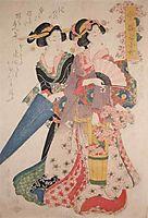 Kiyomizu Komachi, 1838, eisen