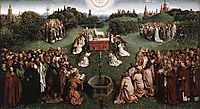 Adoration of the Lamb, 1429, eyck