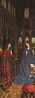The Annunciation, 1435, eyck