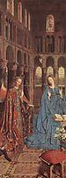 The Annunciation, c.1435, eyck