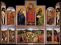 The Ghent Altarpiece, 1432, eyck
