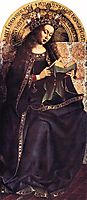 The Ghent Altarpiece, The Virgin Mary, 1429, eyck