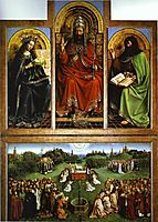 God the Father, 1432, eyck