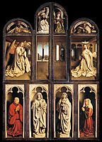Left panel from the Ghent Altarpiece, 1432, eyck