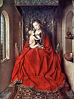 The Lucca Madonna, 1436, eyck