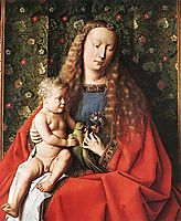 The Madonna of Canon van der Paele (detail) , 1436, eyck