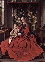 The Ince Hall Madonna (The Virgin and Child Reading), 1433, eyck