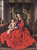 Madonna with the Child Reading, 1433, eyck