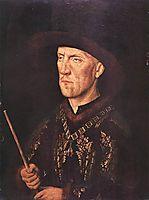 Portrait of Baudouin de Lannoy, 1435, eyck