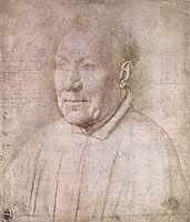 Portrait of Cardinal Albergati, 1435, eyck