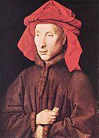 Portrait of Giovanni Arnolfini, 1435, eyck