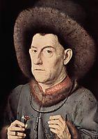Portrait of a Man with Carnation, c.1435, eyck