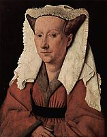 Portrait of Margaret van Eyck, 1439, eyck