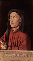 Portrait of a Young Man, 1432, eyck