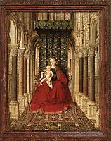 Small Triptych (central panel), eyck