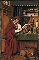 St. Jerome in his Study , 1432, eyck