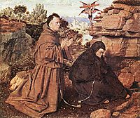 Stigmatization of St Francis, 1428-1429, eyck