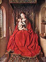Suckling Madonna Enthroned, 1436, eyck