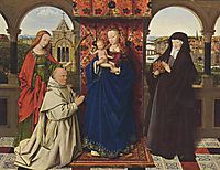 The Madonna with the Carthusians, 1425, eyck