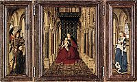 The Virgin and Child in a Church, 1437, eyck