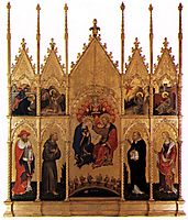 Polyptych of Valle Romita, c.1400, fabriano