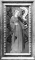 St. Agnes (wing of a diptych), fabriano