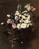 Autumn Flowers, 1861, fantinlatour