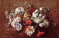 Bouquet of Flowers, 1882, fantinlatour