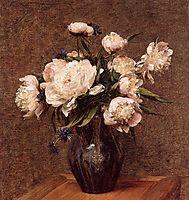 Bouquet of Peonies, 1878, fantinlatour
